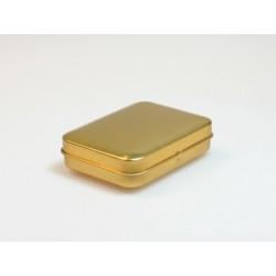 Rechthoekig doosje blik goud