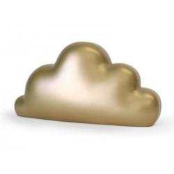 Sleutelhanger wolk aqua