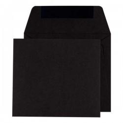enveloppe vierkant zwart