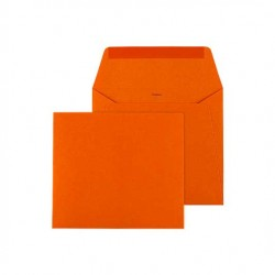 enveloppe vierkant oranje