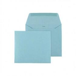 enveloppe vierkant lichtblauw
