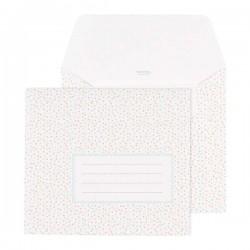 enveloppe vierkant confetti