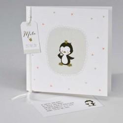 Geboortekaartje Pinguin - Inclusief Babyborrelkaartje