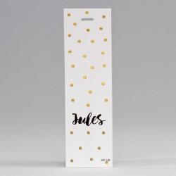 Lange Label Confetti Goud