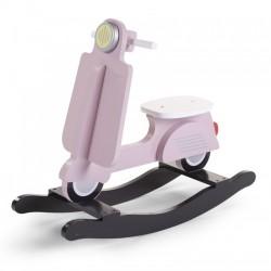 Hobbelscooter Roze