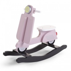 Hobbelscooter Wit