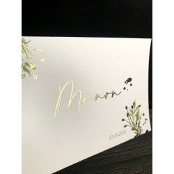 Geboortekaartje thema Manon
