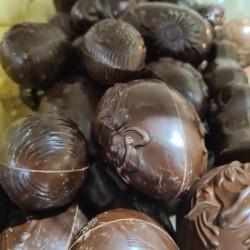 Raapeitjes Assortiment Callebaut fondant chocolade