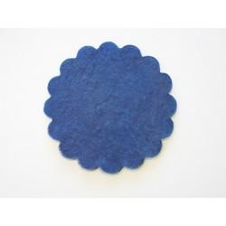 Polytulle donker blauw