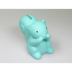 Mini spaarpot Betty turquoise