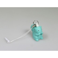 Mini sleutelhanger Betty turquoise