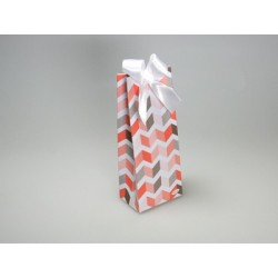 Sachet Haut zigzag Betty orange