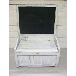 Houten box met lei