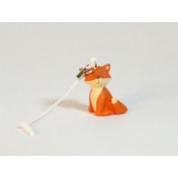 Mini sleutelhanger - smartphone deco Cesar oranje
