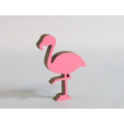 3D flamingo medium