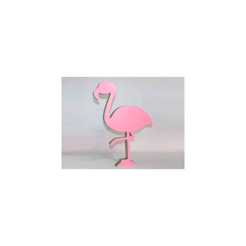 3D flamingo large