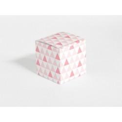 Hoge tas patroon driehoek mint