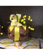 Gevulde paaseieren   Callebaut chocolade met Gudrun kwaliteitspralines